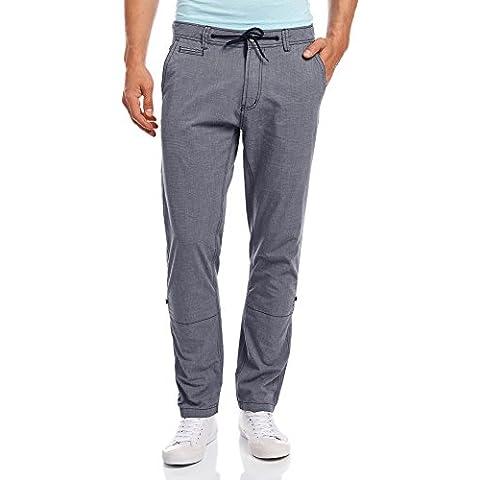 oodji Ultra Uomo Pantaloni in Cotone con Laccetti