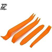 Fastener & Clip ZD 4 piezas de herramientas de extracción de puerta de audio para Kia