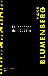 Le concept de réalité