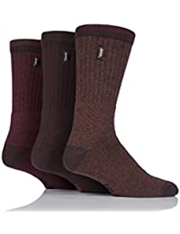 Mens 3 Pair Jeep Urban Trail Cotton Sports Socks In 3 Colours