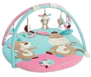 Fehn 081657 3-D-Activity-Decke Esel, Monkey Donkey