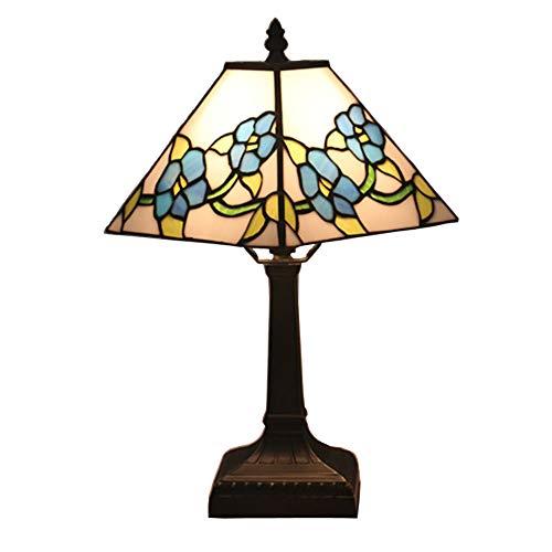 CAQQ Tiffany Stil tischlampe Amerikanischen Platz buntglas esszimmer Wohnzimmer Schlafzimmer nachttischlampe(mehrfarben optional) -