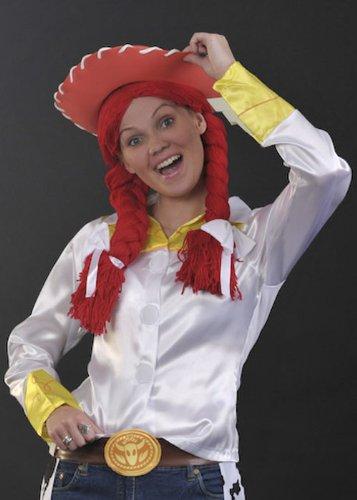 Damen Kostüm Jessie Toy Story Style rote (Kostüme Story Jessie Aus Toy)