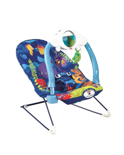 Fisher-Price Baby Gear T2806 Babysitter Aquarium Lichter und Klänge