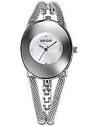 Hermosos Relojes WEIQIN/Moda Mujer Reloj de Pulsera de Reloj de Cuarzo