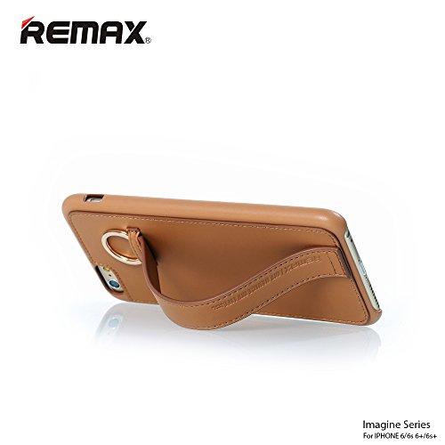 Remax Apple iPhone 66S Plus 11,9cm 14cm FREIHÄNDIGER Cover Ring Gurt Halterung Displayschutzfolie–Bild Serie–VIER Farbe... b018j7b71g, Kunstleder, schwarz, iPhone 6s / 6 (4.7') Rosa / Weiß