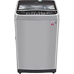 LG 6.5 kg Fully-Automatic Top Loading Washing Machine (T7577NEDL1, Free Silver)