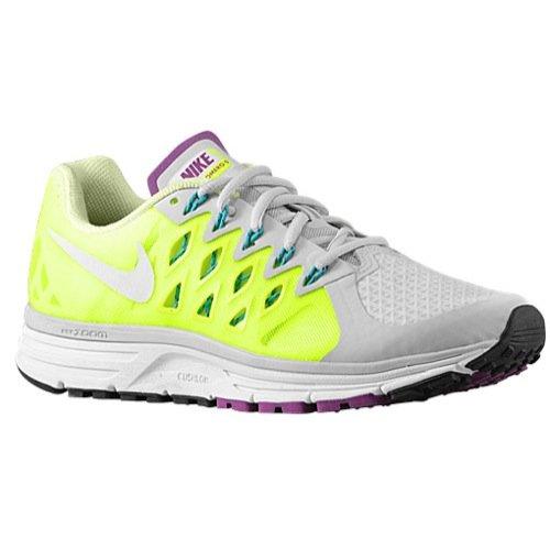 Nike Damen Zoom Vomero 9Running Trainer 647377Sneakers Schuhe, Pure Platinum/White Volt-Barely Volt - Größe: 46 EU C/D (Nike 4 Vomero)