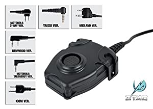 Z-Tactical Ptt Unit Kenwood Version Airsoft Ztactical Push To Talk