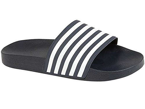 foster-footwear-sliders-ragazzi-uomo-unisex-adulti-blu-blue-white-45