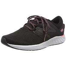 New Balance Women's Fresh Foam Vero Racer W Running Shoes, Black (Black/Pink Black/Pink), 8.5 UK 42.5 EU