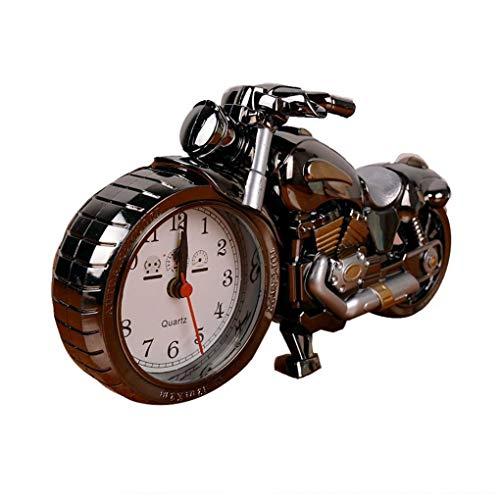 Zonster Retro-Stil Motorrad-Wecker, einzigartiges Geschenk für Motorliebhaber, Kinder, Jungen, einzigartige Auffällige Exquisite Motorrad Sporting Wecker