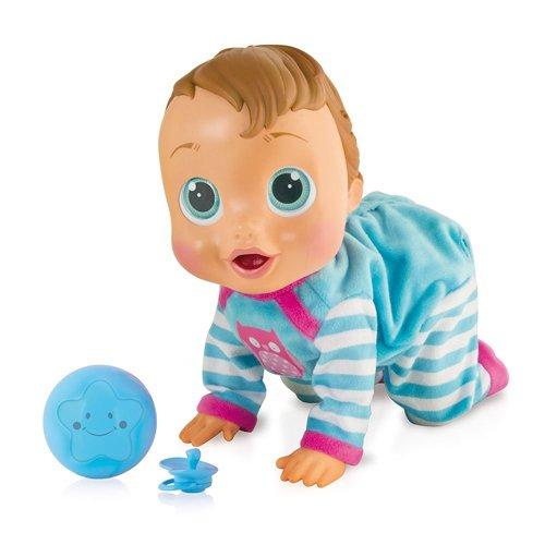 IMC Toys TEO Bebè, Bambola interattiva,, 94727IMIT