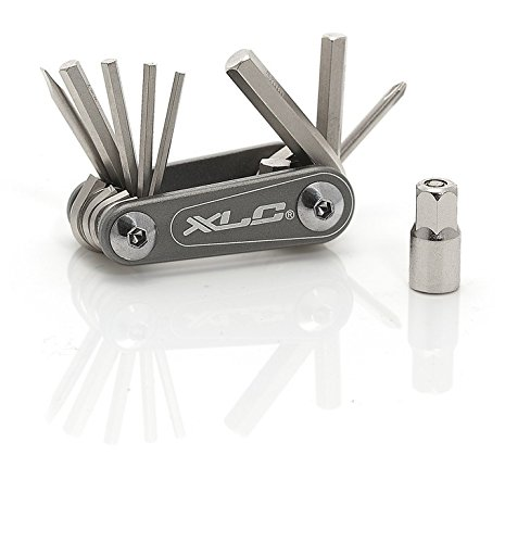 XLC Unisex- Erwachsene Multitool Nano TO-M08, Grau, One Size