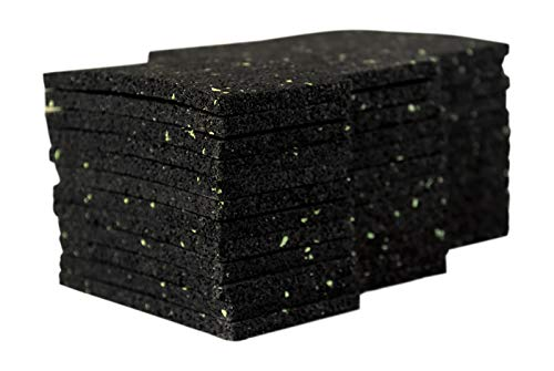 36 Stück 6 mm 50 x 100 mm Terrassenpad, Terrassenpads, Gummigranulat, Terrassenbau