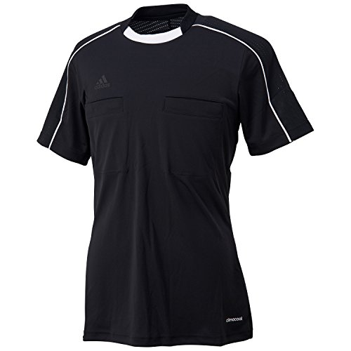 adidas Unisex Trikot Referee 16, black/glow blue/white, M, AJ5917
