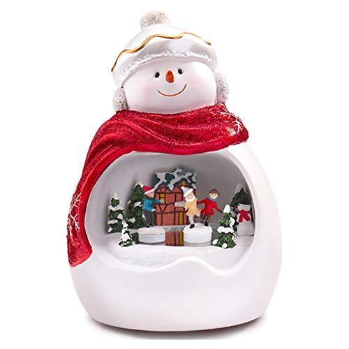 WYDM Heiligabend Spieluhr Weihnachts Spielzeug Elektro-Singen Schmuck Dekoration Geschenke Spielzeug for Kinder Kinder Xmas Party Startseite Weihnachtsdekoration