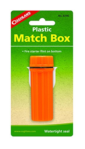 coghlans-plastic-match-box-orange