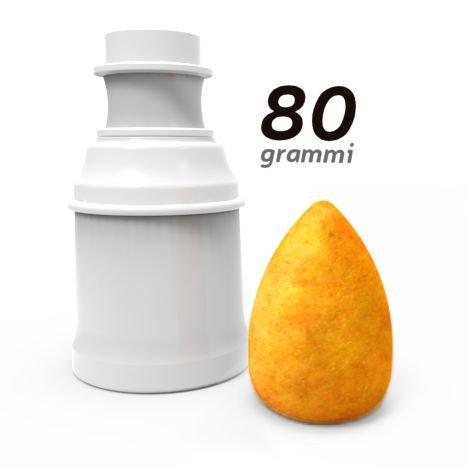 Arancinotto MINI SLIM a forma 'CLASSICA A PUNTA' da 80 grammi