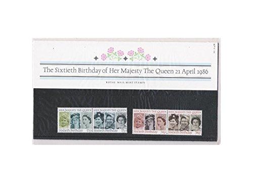 1986 von der Sechziger Geburtstag IHRE MAJESTÄT DIE KÖNIGIN Geschenkbox, Nr. 170