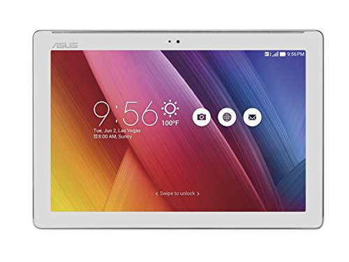 'ASUS ZenPad 10Z300C-1a081a Tablet 10HD, Prozessor Intel Quad Core, 16GB, 2GB RAM, WLAN, Android 5.0 Tablet silber / schwarz (Asus Tablet Android 10 Zoll)