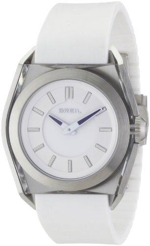 Breil - TW0809 - Montre Mixte - Quartz Analogique - Bracelet Cuir Blanc