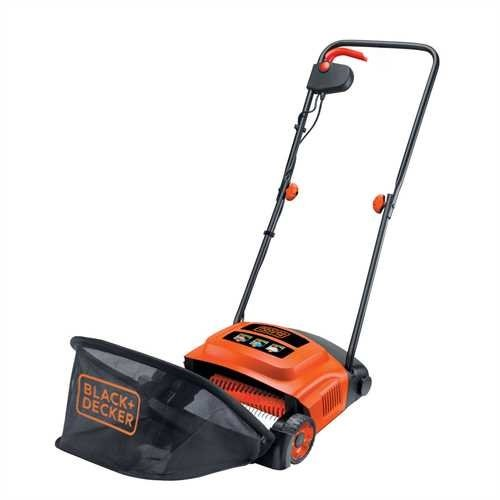 Black + Decker - GD300 - Aérateur Démousseur - 600 W 30 cm - Orange