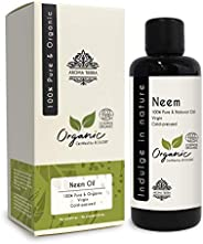 Neem Oil (Certified Organic) - Aroma Tierra - Fights skin & scalp infections, Boosts hair growth, Skin-care, Hair-care - 100