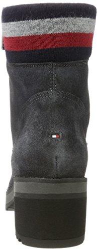 Tommy Hilfiger Damen A1285licia 1b Chukka Boots Grau (Magnet)