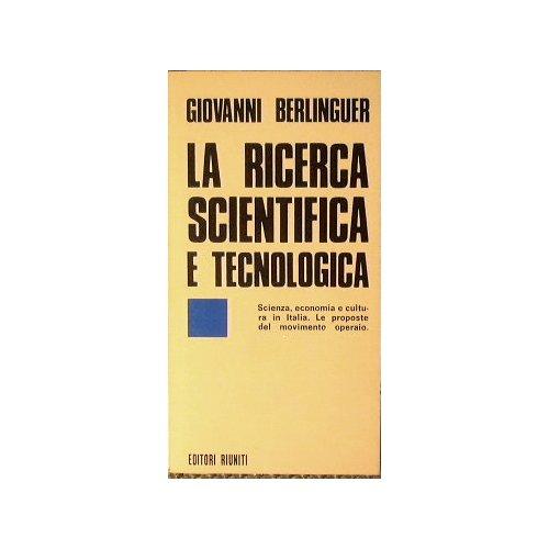 La ricerca scientifica e tecnologica
