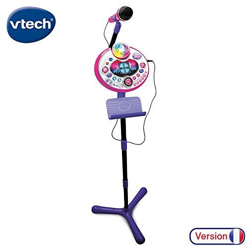 Vtech KIDI Superstar Light Rosa Kididreams Spielzeug, elektronisch, Lernspielzeug, 80-165865, Mehrfarbig