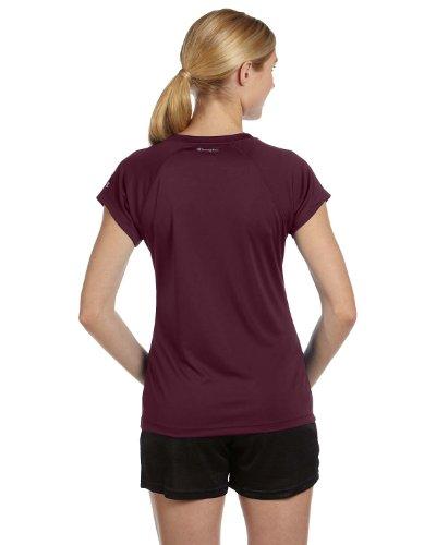 Champion Essential double Dry–T-shirt con scollo a V Rosso - granato