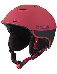 Bollé Casco de esquí Synergy Soft Red, 58–61cm, 31183