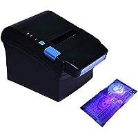 [Actualización 2.0] 300 mm / sec Impresora de tickets térmicos de 80 mm Con detector de moneda UV Impresora de recibos térmicos