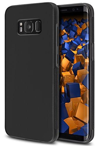 mumbi double GRIP Hülle für Samsung Galaxy S8 Schutzhülle schwarz