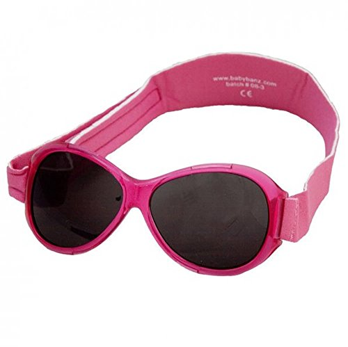 Baby BanzBaby Jungen (0-24 Monate) Sonnenbrille Rosa Pink