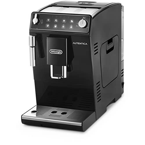 De'Longhi Autentica, Automatic Bean to Cup Coffee Machine, Cappuccino and Espresso Maker, ETAM 29.510.B, Black