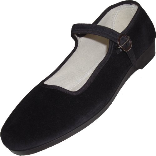 Samt Ballerina CHINA FLAT black 40