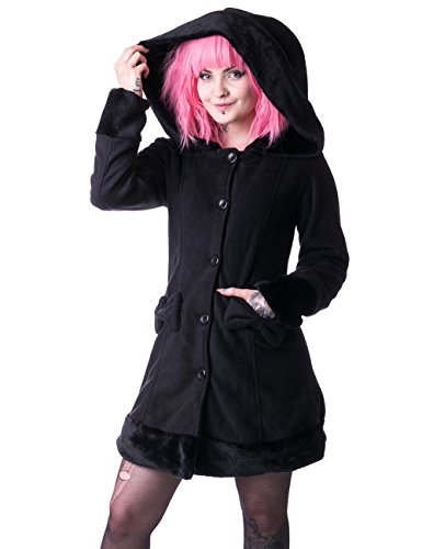 Vixxsin -  Cappotto  - Donna nero Small