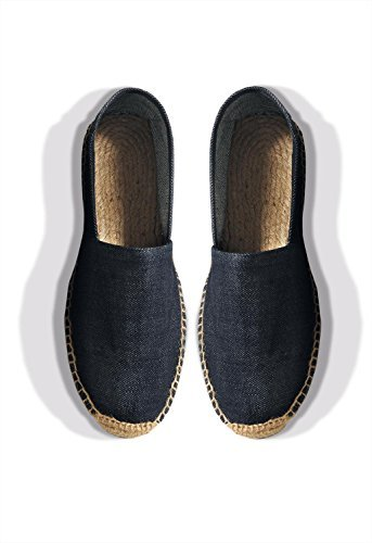 BC Denim Bc Dnm Espadrille /men - Deep Blue Denim - 44