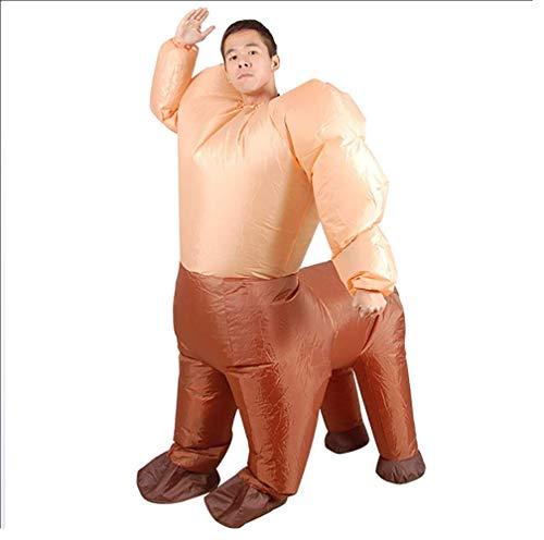 (OOFAYWFD Aufblasbare Kleidung Centaur Aufblasbare Pu Polyester Tuch Party Bühne Mount Model Halloween Dekoration (150Cm-190Cm))
