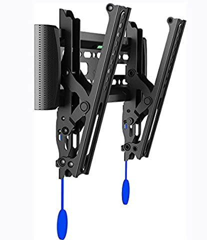 Invision® TV Wall Bracket Mount with Tilt Action for LED LCD & Plasma Screens VESA 200x200 Maximum *Please Check Your TV VESA Mounting Holes before Purchase* Best fit for 17 to 40 Inch TVs