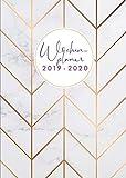 Wochenplaner 2019-2020: Juli 2019 bis Dezember 2020, modernes Marble Cover Design mit rose-gold Pattern, 18 Monate Wochen- und Monatsplaner, 1 Woche ... 15x21 cm (Bürobedarf 2019-2020, Band 3) - Papeterie Collectif