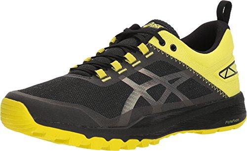 Asics Gecko XT para Hombre Zapatos Negro/Carbono/Sulphur Spring 7 D(M) US