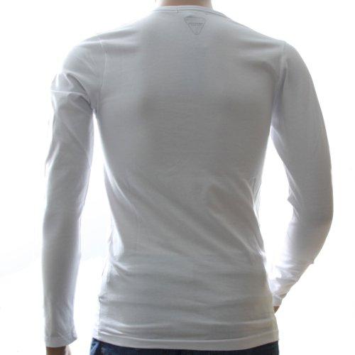 Redskins Herren Langarmshirt Weiß weiß Weiß - weiß