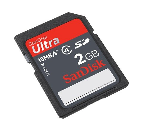 SanDisk Secure Digital (SD) Ultra Speicherkarte 2 GB - Extreme 2gb Flash Speicherkarte