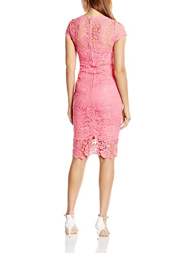 Paper Dolls Crochet Lace, Robe Femme Rose (Coral)