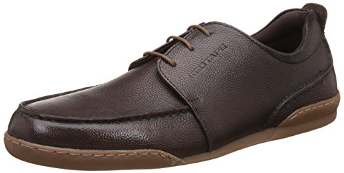 Red Tape Men's Brown Leather Casual Shoes - 9 UK/India (43 EU)