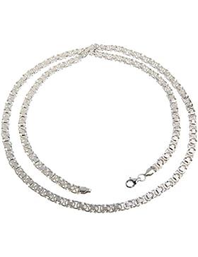 Flache Königskette 4,6mm - 925 Silber - Länge 40-100cm