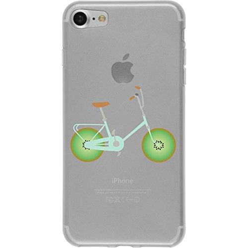 PhoneNatic Apple iPhone 7 Coque en Silicone Bike M2 Case iPhone 7 + films de protection Motif 1